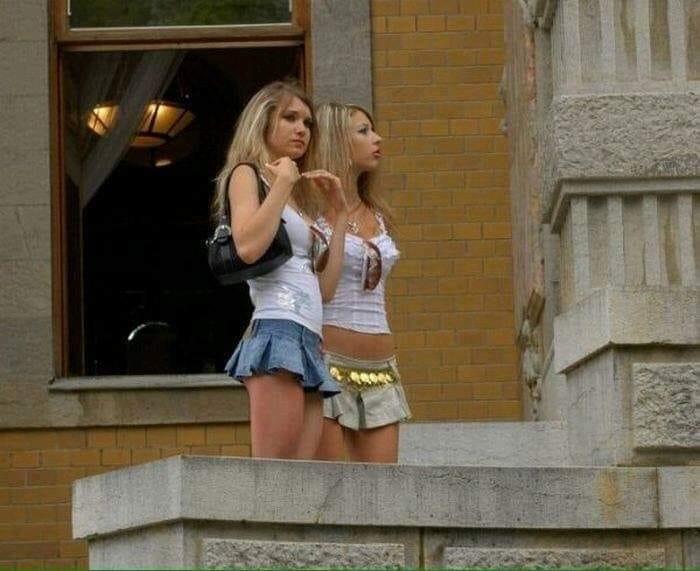 """Так если ты не проститутка, то зачем ты носишь её форму?"""""""